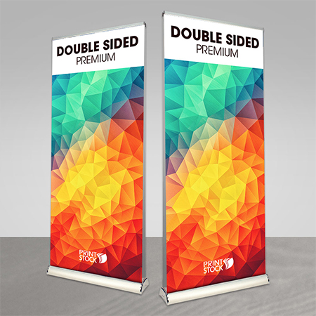 Double Side - Premium Rollup Stand